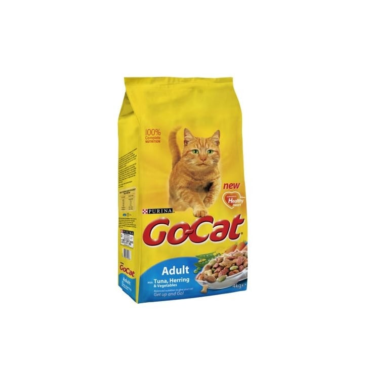 Go Cat Complete Dry Cat Food Tuna,Herring & Veg 4kg