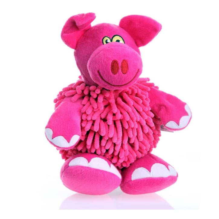 Go Dog Mopz Pink Pig Chew Guard Dog Toy Large