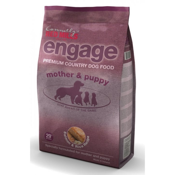 Red Mills Engage Mother & Puppy Dog Food Salmon & Rice 3kg Vat Free