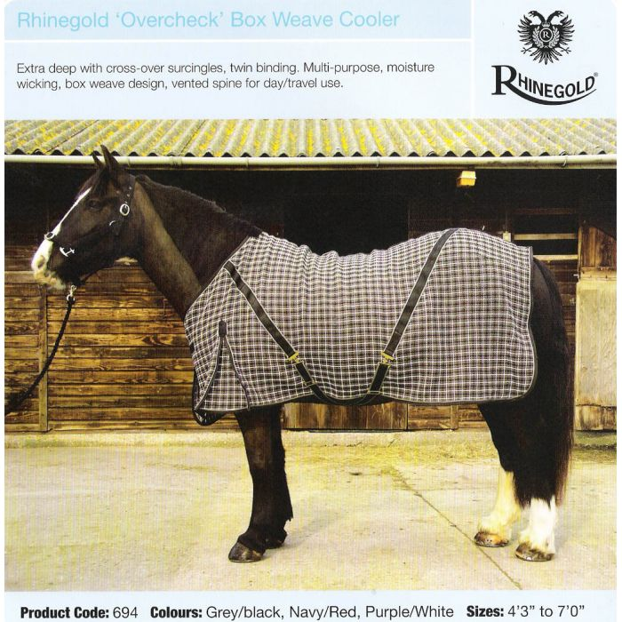 Rhinegold Box Weave Cooler Rug