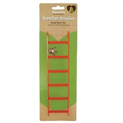 Boredom Breaker Budgie & Canary Bird Ladder with Bell 9