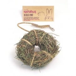 Boredom Breaker Naturals Alfalfa Ring For Small Animals