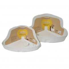 Boredom Breaker Options Hi-Back Litter Pan Medium