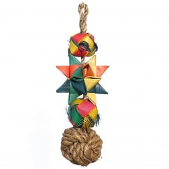 Boredom Breaker Woven Wonders Comet Small/Medium Bird Toy