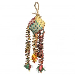 Boredom Breaker Woven Wonders Diamond Bouncer Medium/Large Bird Toy