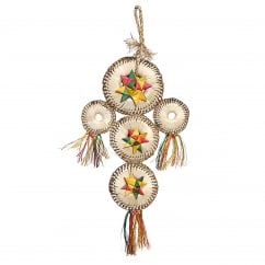 Boredom Breaker Woven Wonders Dream Catcher Medium/Small Bird Toy