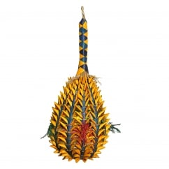 Boredom Breaker Woven Wonders Foraging Pineapple Extra Large Bird Toy