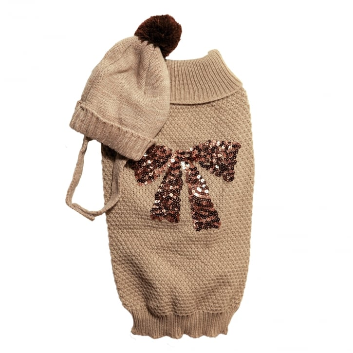 Rosewood Cupid & Comet Festive Clothing Winter Hat & Jumper Set Medium