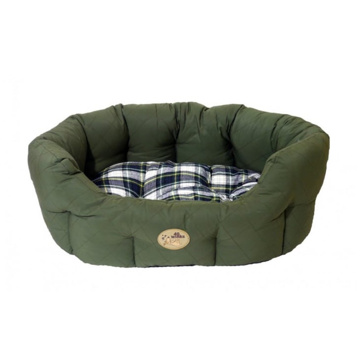 Rosewood 40 Winks Country Green Oval Sleeper 20