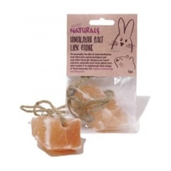 Rosewood Pet Products Boredom Breaker Naturals Himalayan Salt Lick Stone