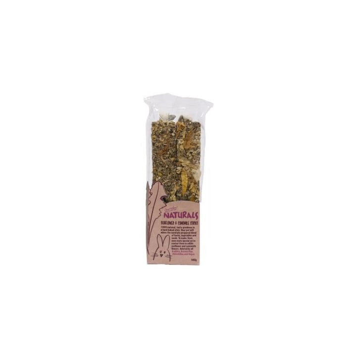 Rosewood Boredom Breaker Naturals Sunflower & Camomile Sticks 140g