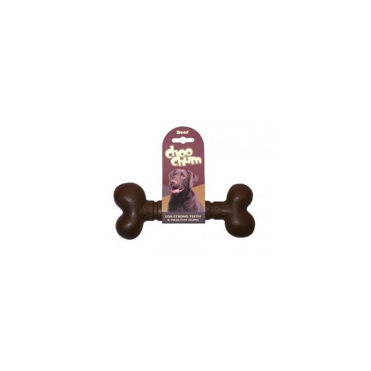 Rosewood Choo Chum Nylon Beef Dog Bone Large