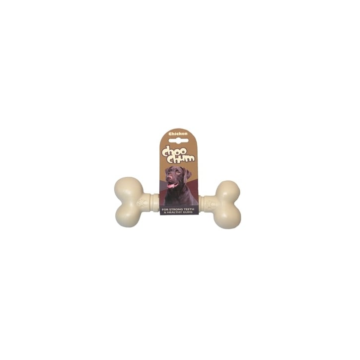 Rosewood Choo Chum Nylon Chicken Dog Bone Small