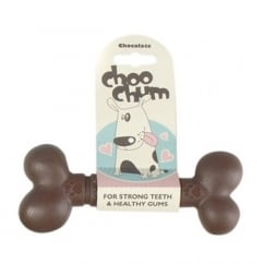 Choo Chums Nylon Bone Chocolate Large