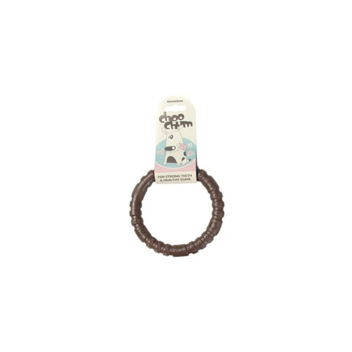 Rosewood Choo Chums Nylon Ring Chocolate Small