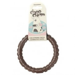 Choo Chums Nylon Ring Chocolate Small
