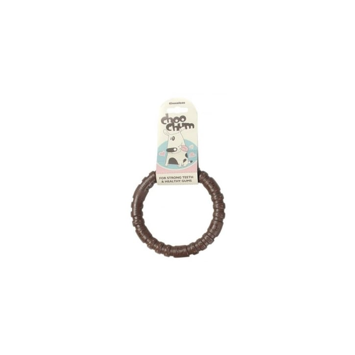 Rosewood Choo Chums Ring Chocolate Large