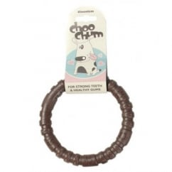 Choo Chums Ring Chocolate Large