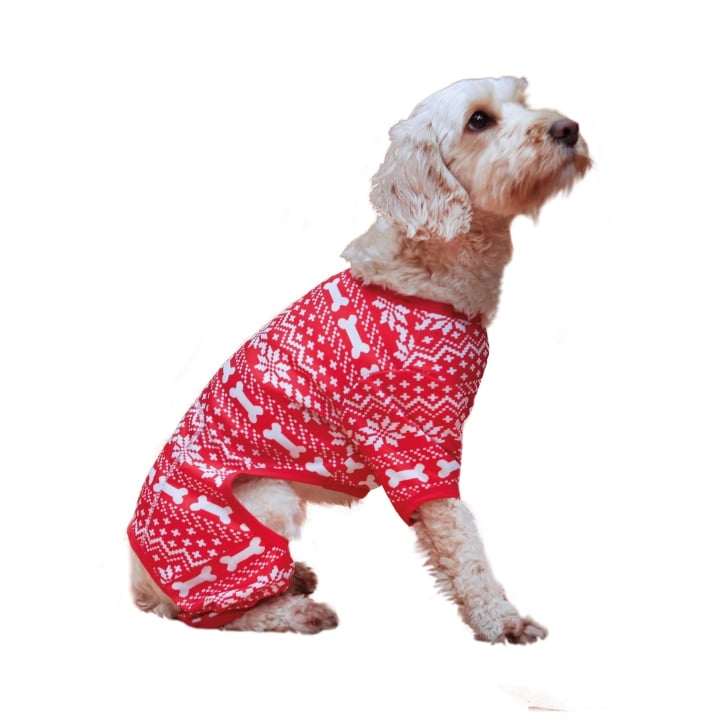 ROSEWOOD SNOWFLAKE CHRISTMAS DOG JUMPER VARIOUS SIZES