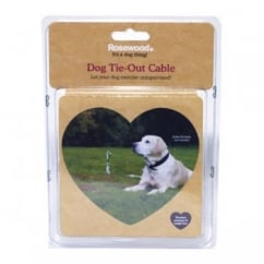 Dog Tie Out Cable 15'