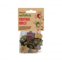 Rosewood Naturals Christmas Nibbles for Small Animals 100g