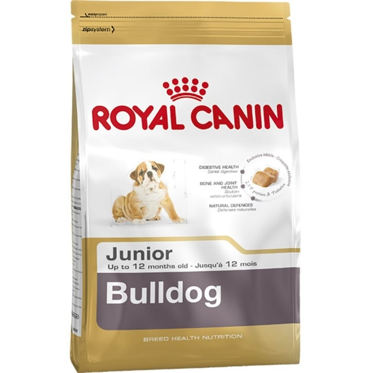 Royal Canin Bulldog Junior Dog Food 12kg