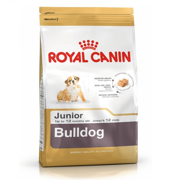Royal Canin Bulldog Junior Dog Food 3kg