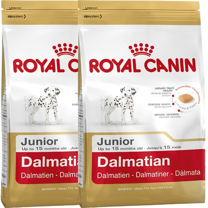 Royal Canin Dalmatian Junior Dog Food 2 x 12kg Twin Offer