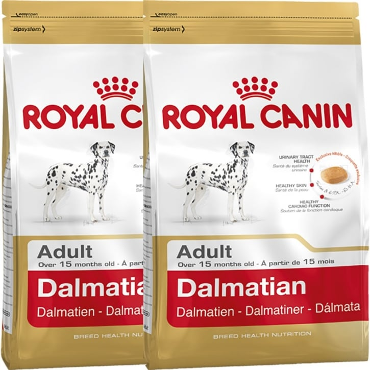Royal Canin Dalmation Adult Dog Food 2 x 12kg Twin Offer