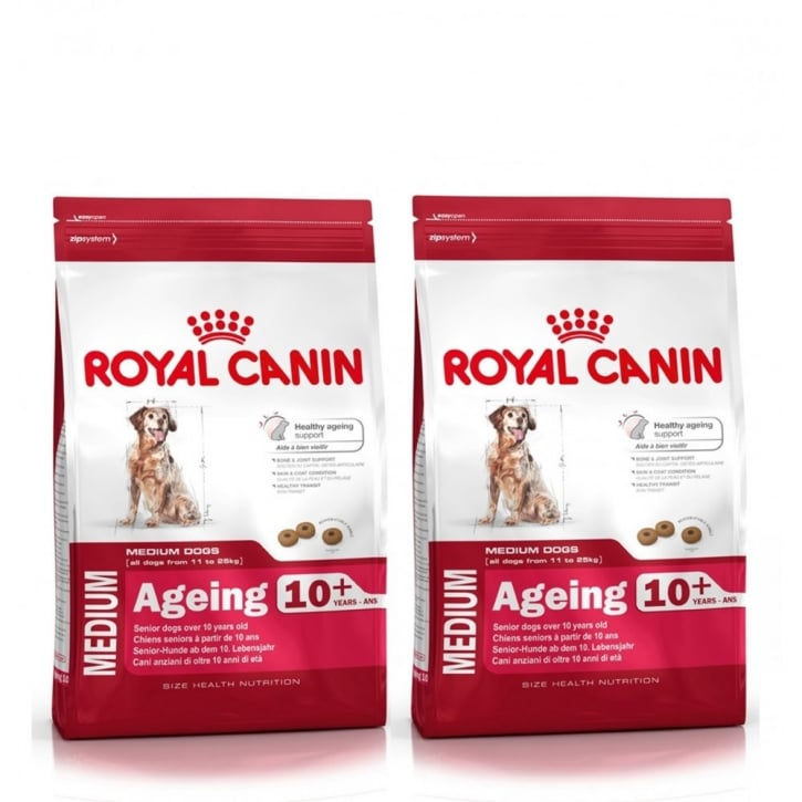 Royal Canin Dog Adult Medium Ageing 10+ 2 x 15kg