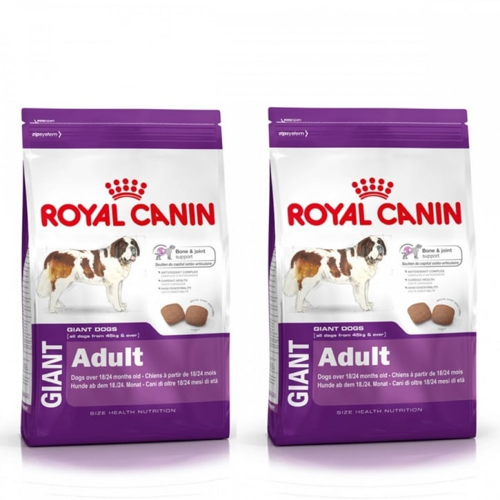 Royal Canin Giant Adult Complete Dog Food 2 x 15kg