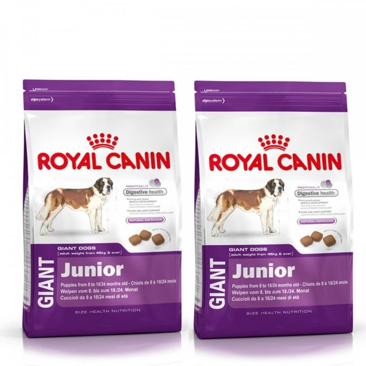 Royal Canin Giant Junior Complete Dog Food 2 x 15kg