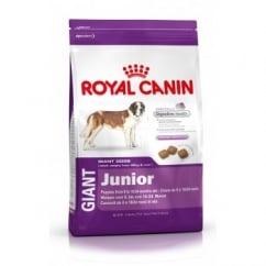 Royal Canin Giant Junior Complete Dog Food 8 To 24 Month 4kg