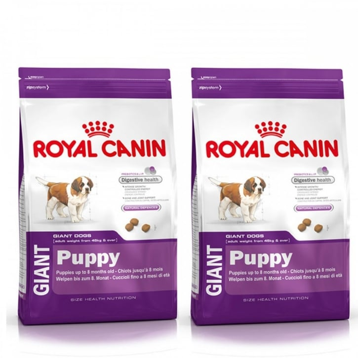 royal canin giant puppy dog food 2 x 15kg special offer. Black Bedroom Furniture Sets. Home Design Ideas