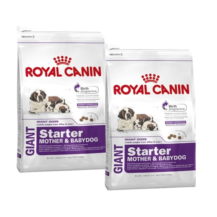 Royal Canin Giant Starter Dog Food 2 x 15kg