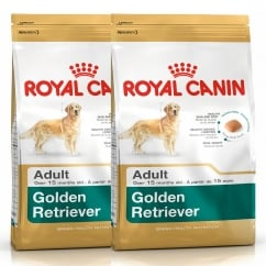 Golden Retriever Adult Dog Food 2 x 12kg