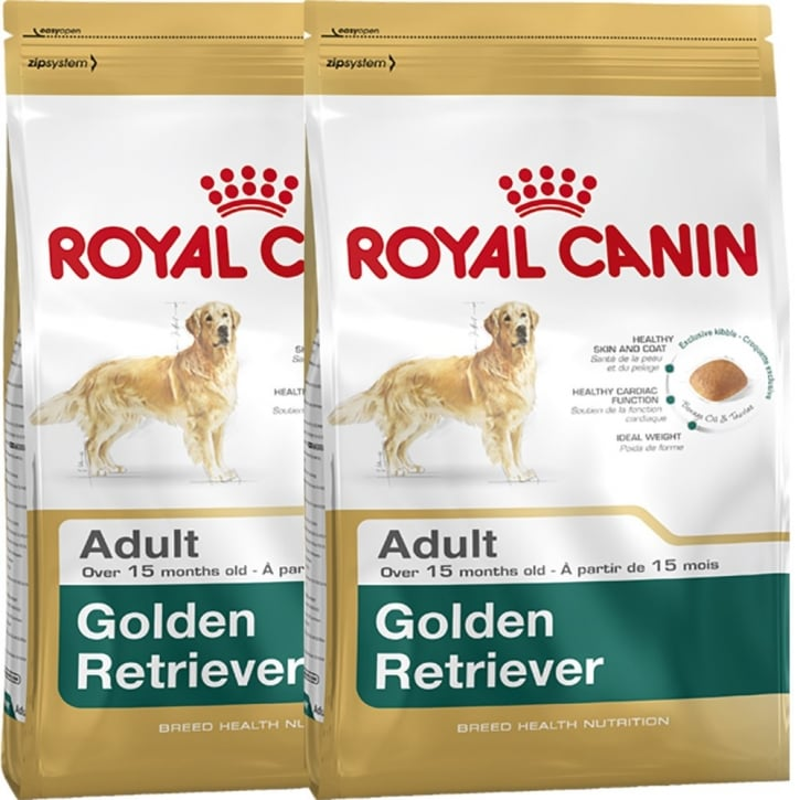 Royal Canin Golden Retriever Adult Dog Food 2 x 12kg Twin Offer