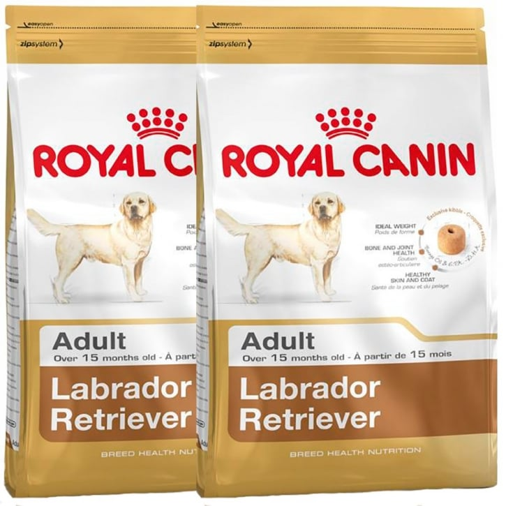Royal Canin Labrador Retriever Adult Dog Food 2 x 12kg Twin Offer