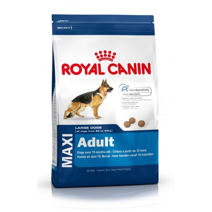 Royal Canin Maxi Adult Complete Dog Food 4kg
