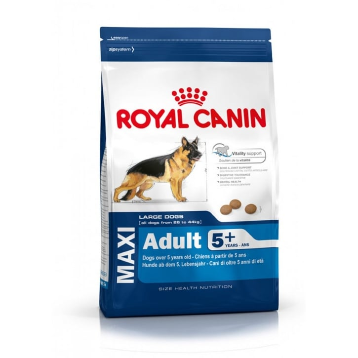 Royal Canin Maxi Adult for Large Breed Dogs over 5 years old 4kg