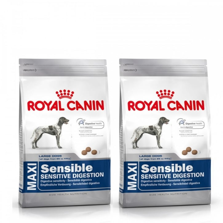 Royal Canin Maxi Adult Sensible Complete Dog Food 2 x 15kg