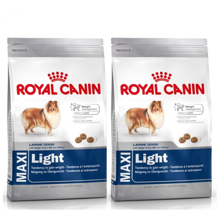 Royal Canin Maxi Light Complete Dog Food 2 x 15kg