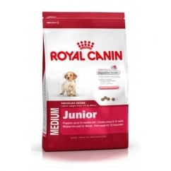 Royal Canin Medium Junior Dog Food 2 To 12month 4kg