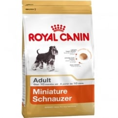 Royal Canin Minature Schnauzer Adult Dog Food 3kg