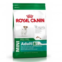 Mini Adult 8+ Dog Food 8kg