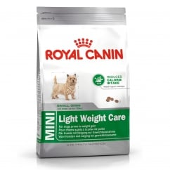 Mini Light Weight Care Dog Food 8kg