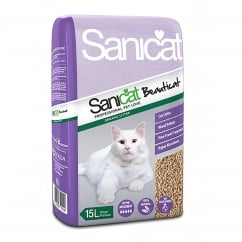 Beauticat Woodbase Cat Litter 15ltr