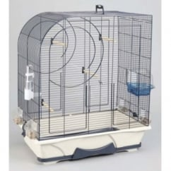 Savic Arte 50 Small Bird Cage - Navy Blue.