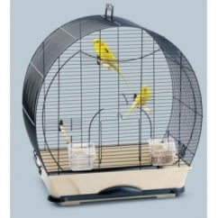 Savic Evelyne 40 Small Bird Cage - Navy Blue