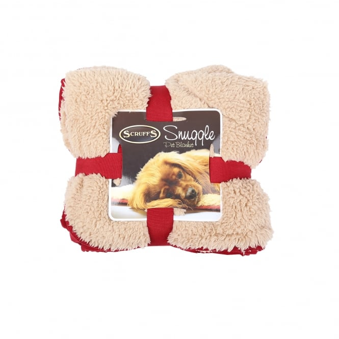 Scruffs Snuggle Pet Blanket Burgundy
